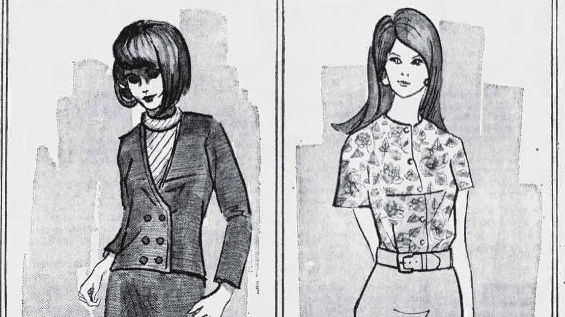 What well-dressed women in Tucson wore 50 years ago