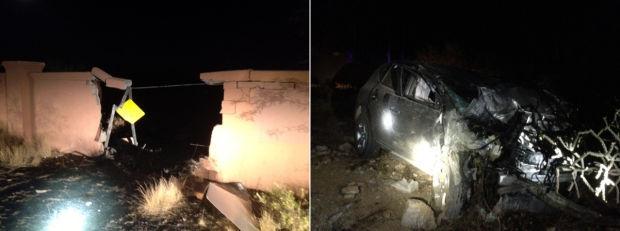 Pima County deputies: Man killed in Catalina Foothills wreck
