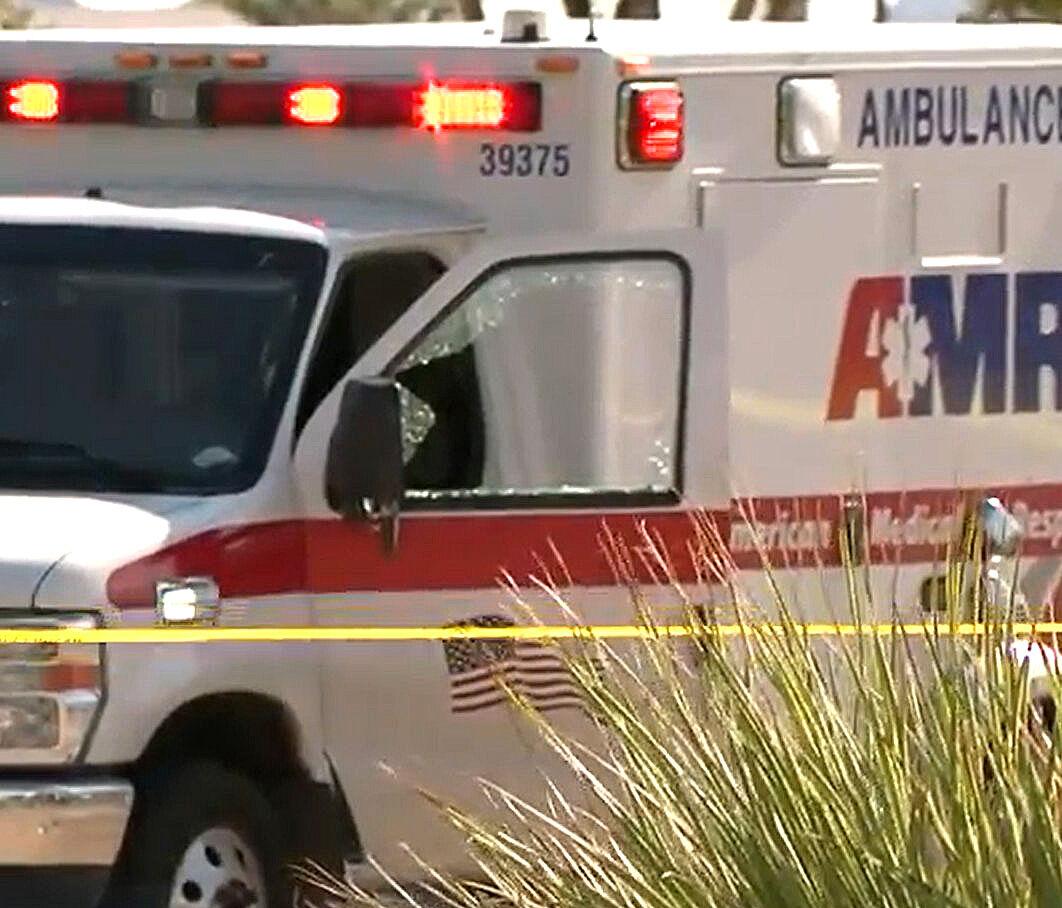 Shooting, AMR Ambulance