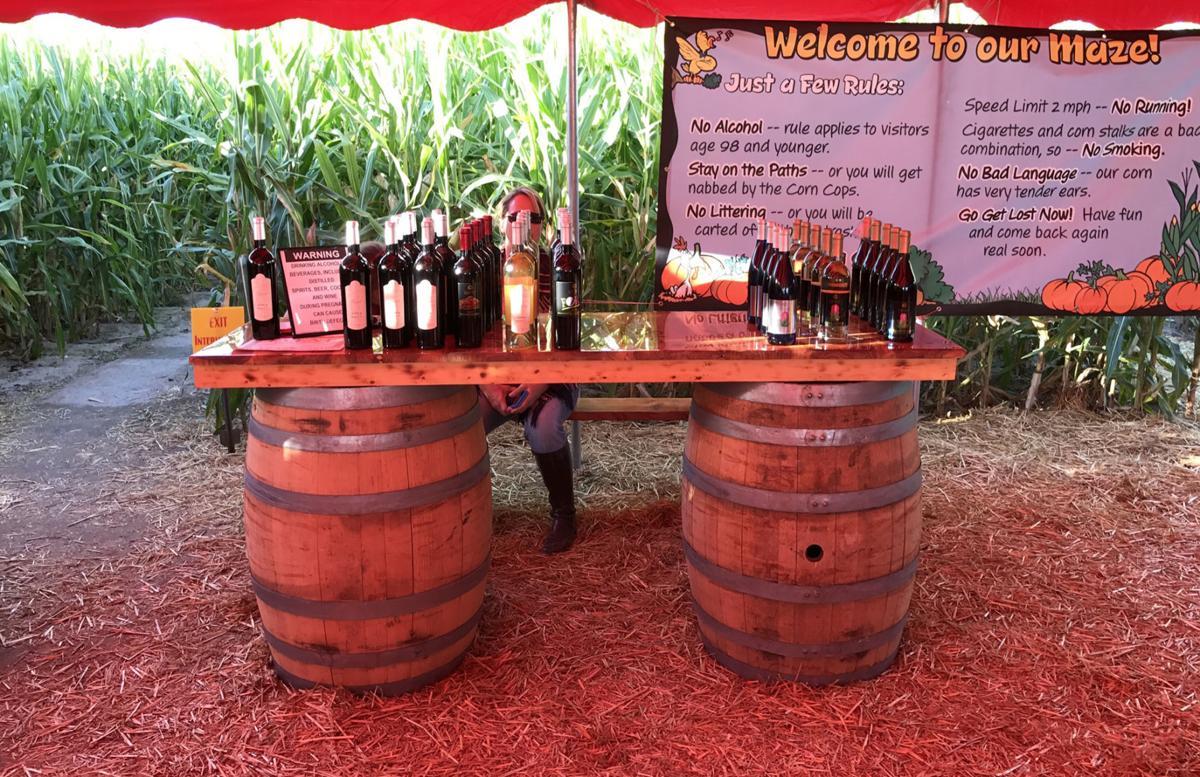 Wine maze