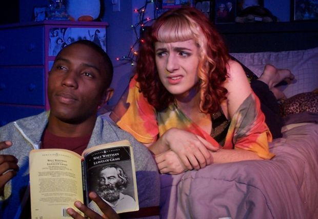 Teens meet Walt Whitman in Invisible Theatre play