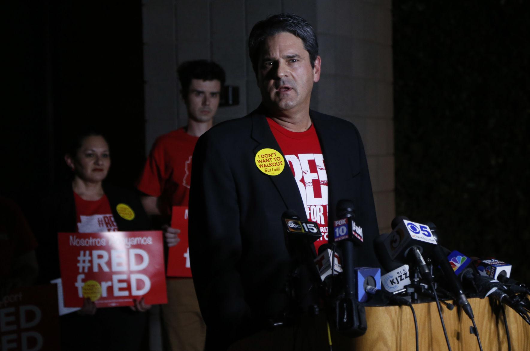 Strike vote: Arizona teachers will walk out Thursday | Tucson.com
