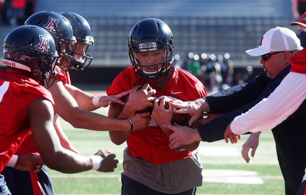 Arizona Wildcats spring football practice