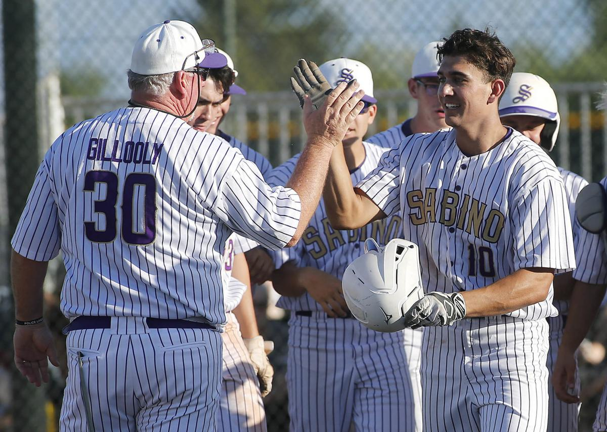 Sabino high school baseball playoffs