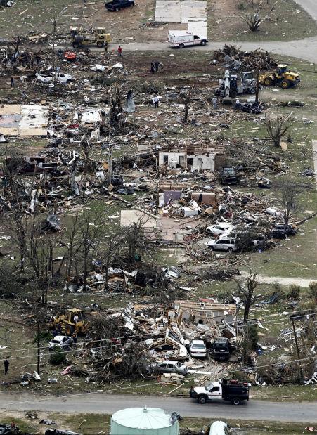 Texas tornado devastation includes Habitat homes