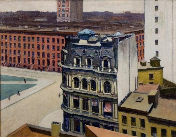 "Edward Hopper's ""The City"""