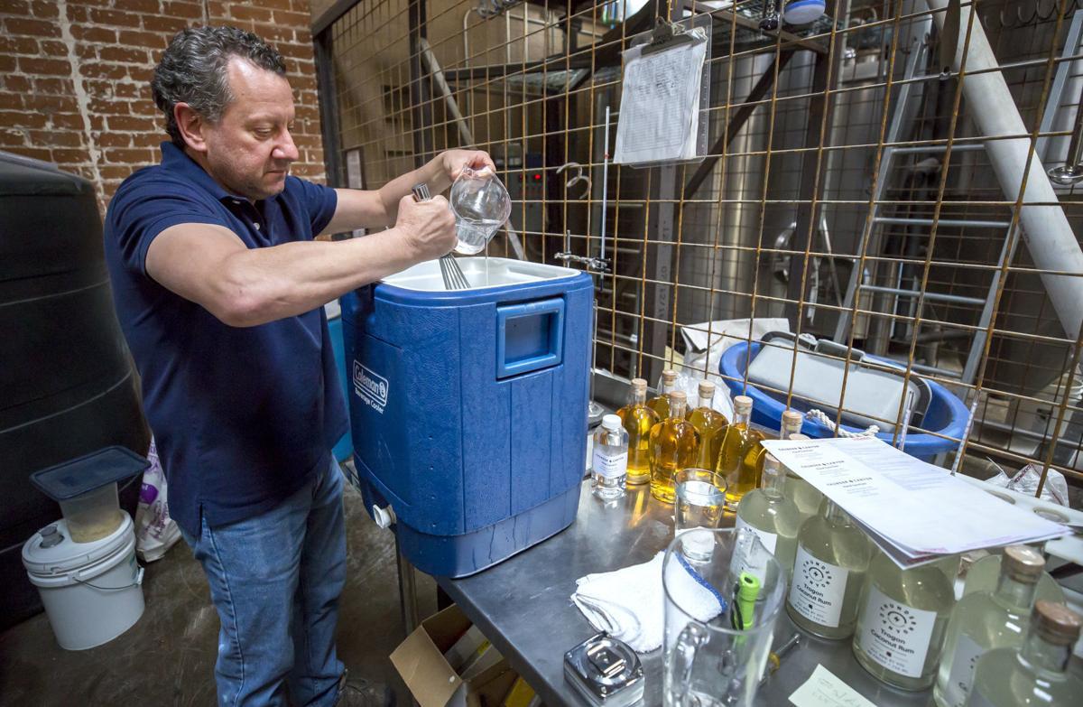 Thunder Canyon Brewery, sanitizer