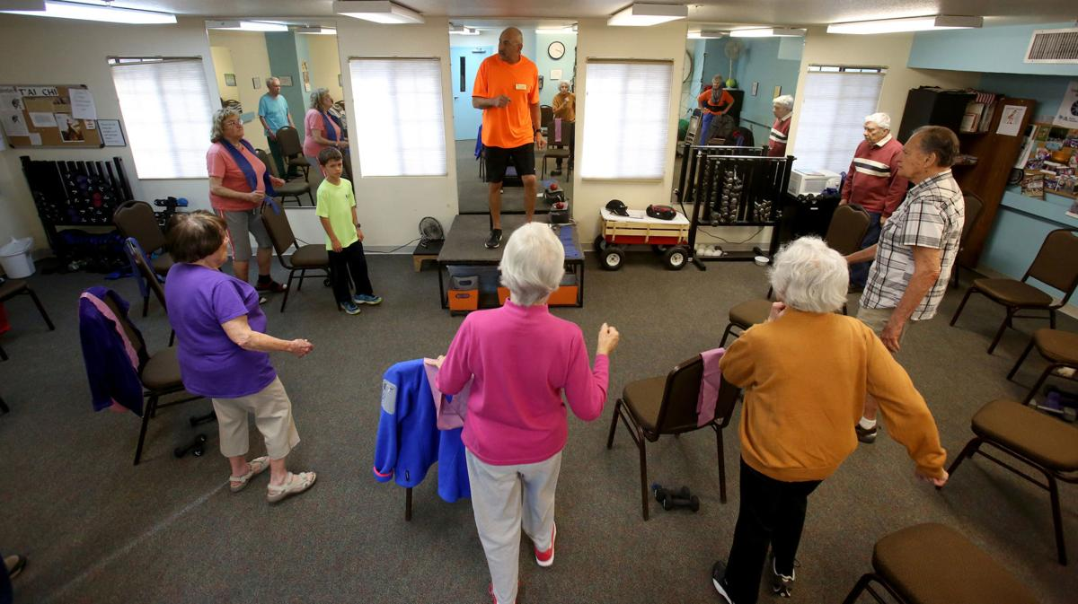 Exercising Seniors