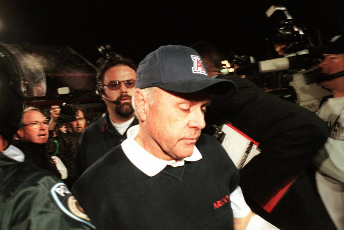 Arizona Wildcats football coach Dick Tomey