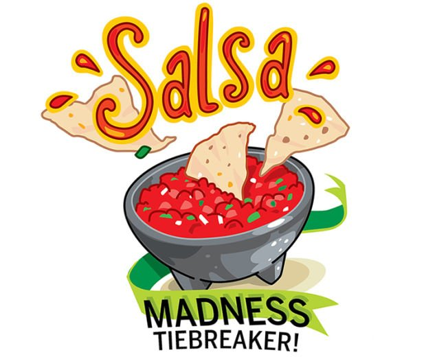 Tiebreaker for Salsa Madness