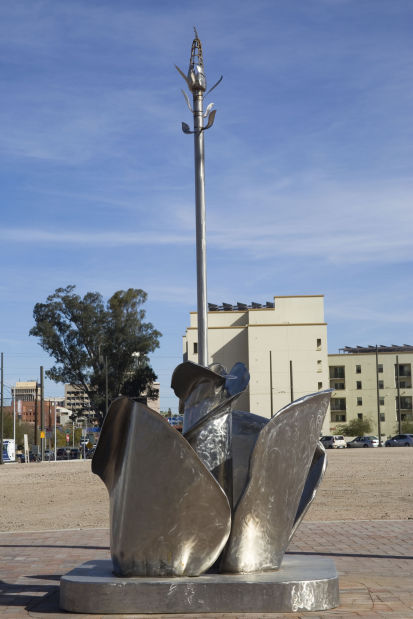 Public art along Streetcar route