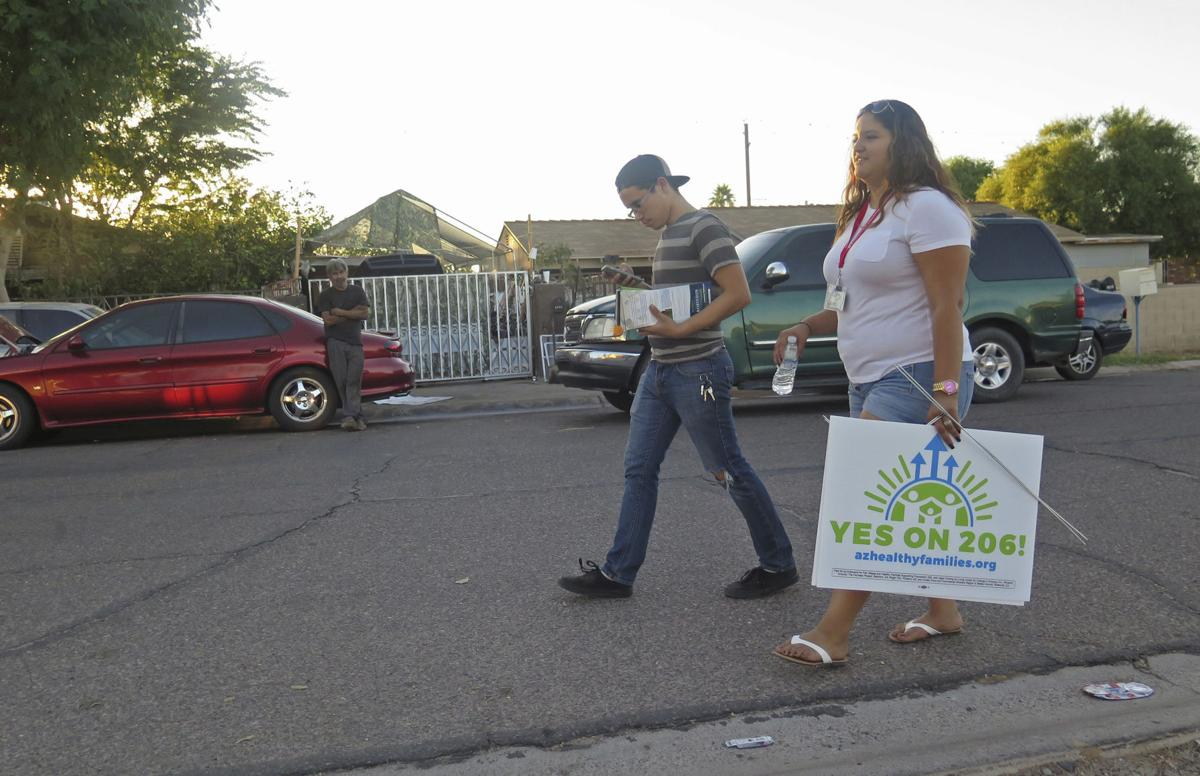 Suit filed to block voter-approved increase in Arizona's minimum wage