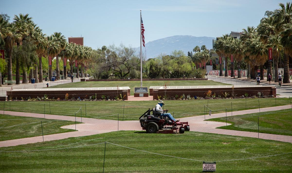 University of Arizona campus, coronavirus