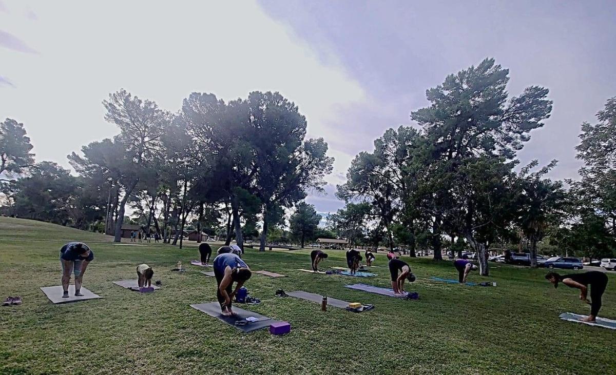 Reid Park yoga
