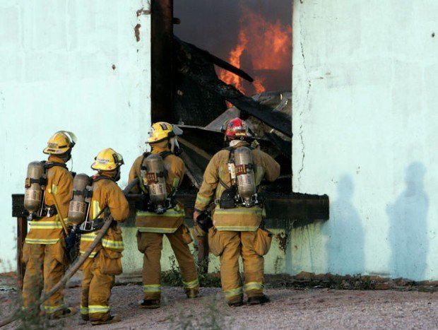 Historic-area fire is ruled an arson; heavily damaged businesses