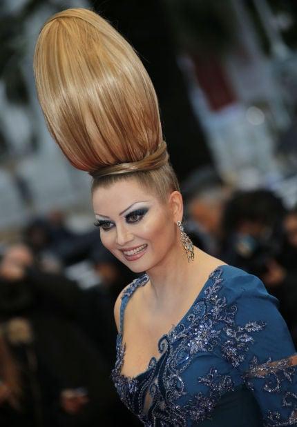 Photos Bad Hair Days And Coiffure Failure At Cannes Latest