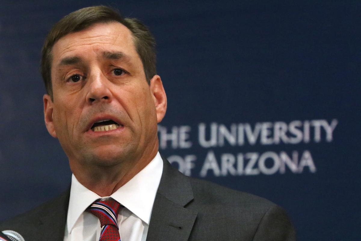 Dave Heeke, UA Athletic Director