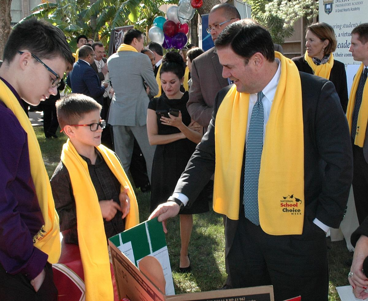 Gov. Ducey and school choice