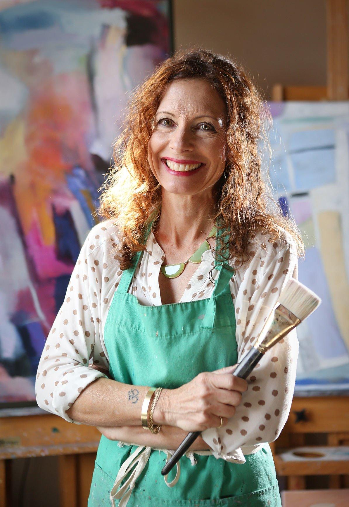 Artist Kathryn Gastelum