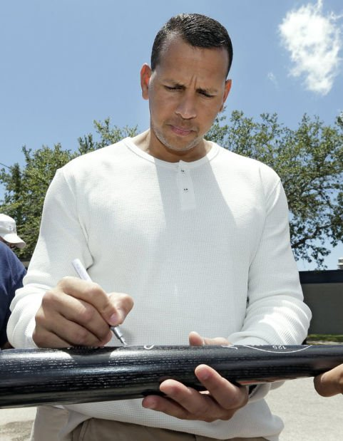 MLB notebook: A-Rod takes field; 1st time since surgery