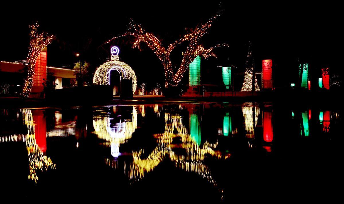 Downtown Tucson lights