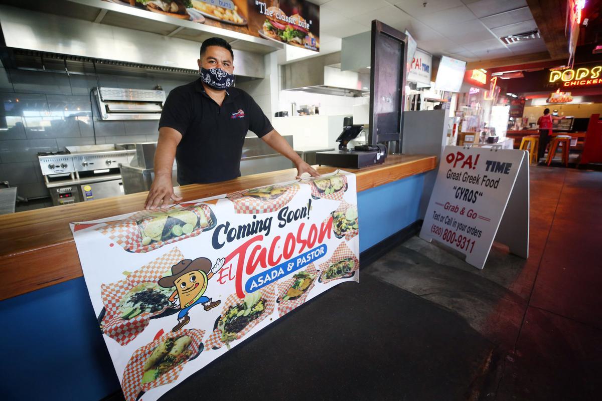 El Tacoson, Raul Leyva