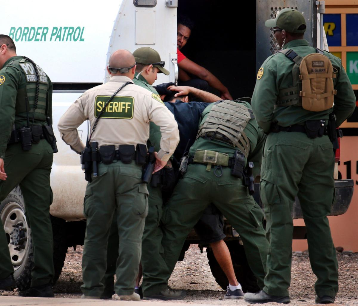 Border Patrol apprehensions in Tucson