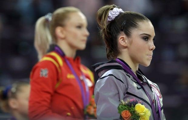 Vault gymnastics mckayla maroney Vault Finals Gymnastics Maroney Finds Only Silver In Vault Arizona Daily Star Gymnastics Mckayla Maroney Finds Only Silver In Vault Olympics