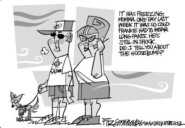 Fitz's last laugh: Freezing