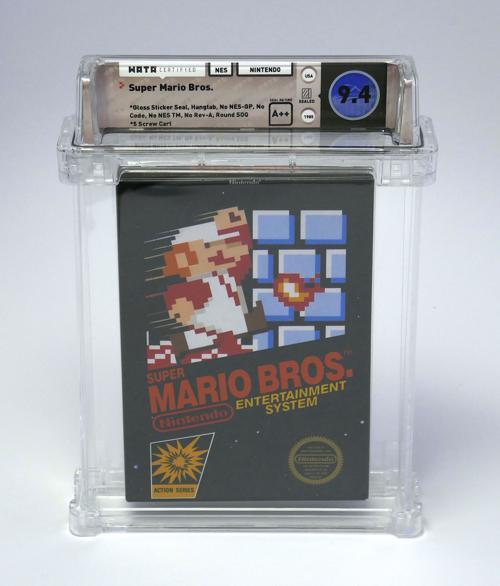 The Smart Collector: Unopened copy of 'Super Mario Bros ' a rare