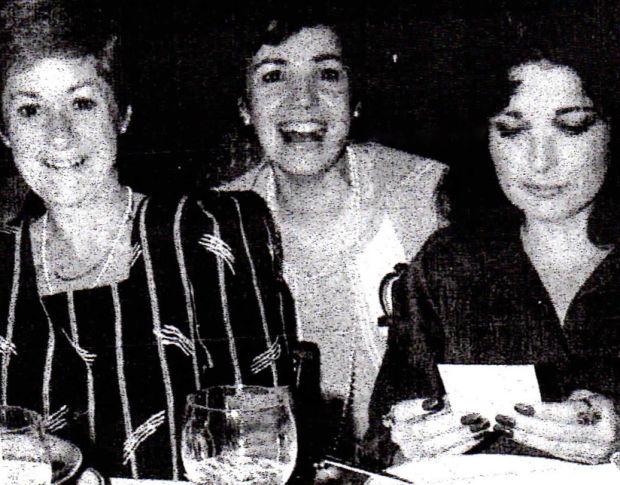 Alexis Powers with Carol and Sandra
