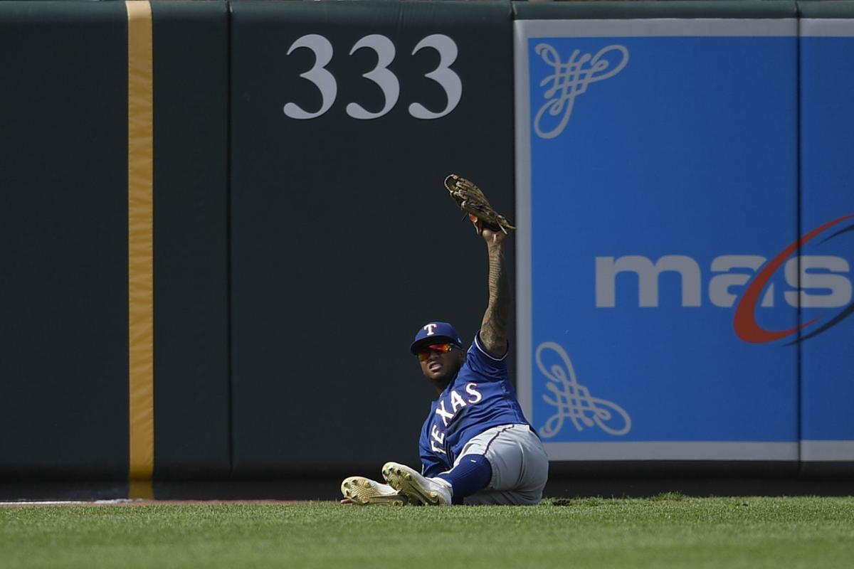 Rangers Orioles Baseball