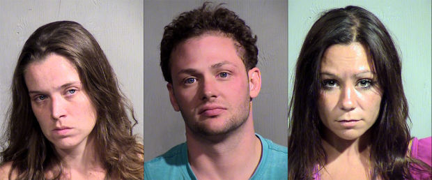 3 arrested after sexual romp in a Peoria hot tub