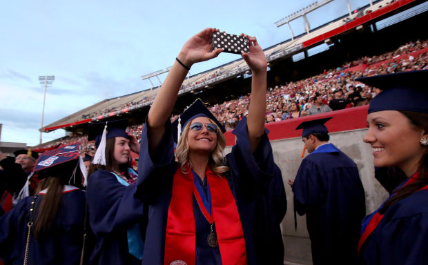 UA Spring Commencement exercises