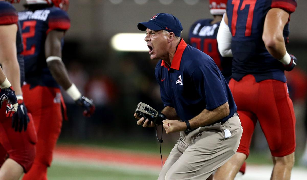 Rich Rodriguez through the years
