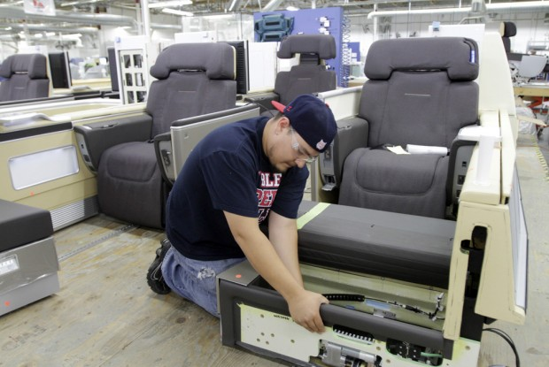 Firm's luxury aircraft interiors in demand