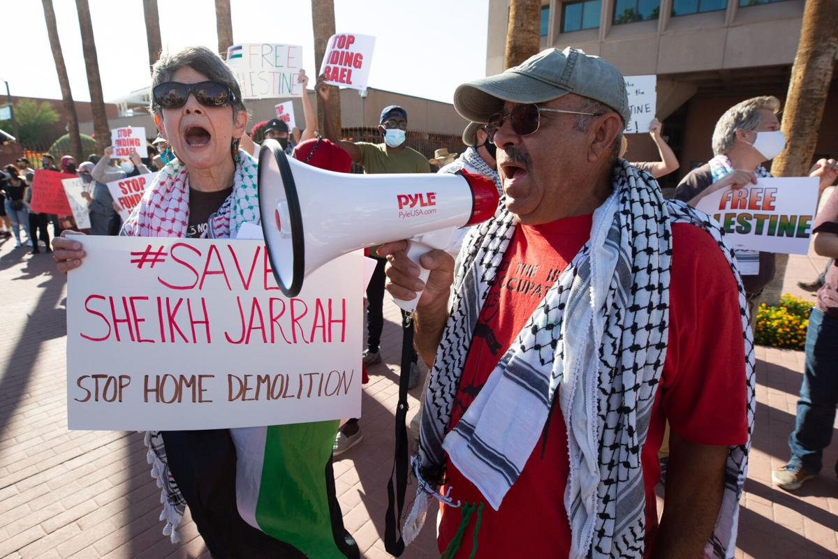 Protest against Israel