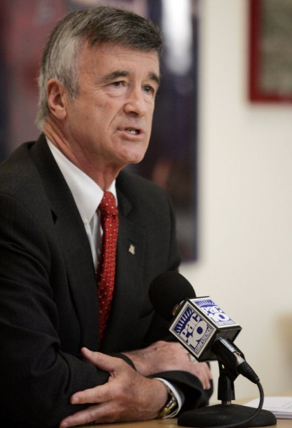 University of Arizona President Robert Shelton