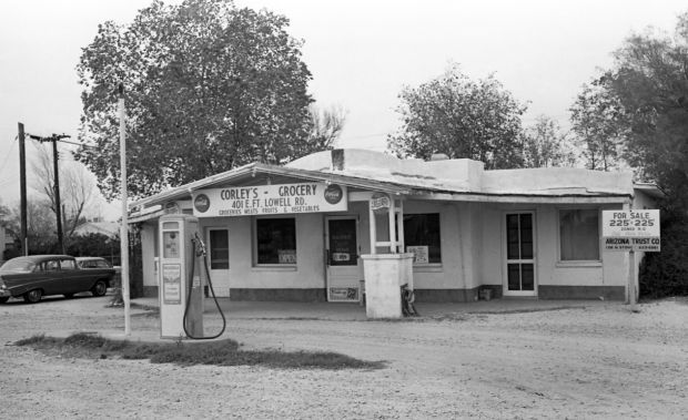 Tucson gas stations in 1968