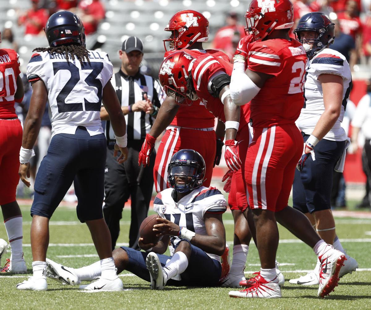 Arizona Wildcats at Houston football