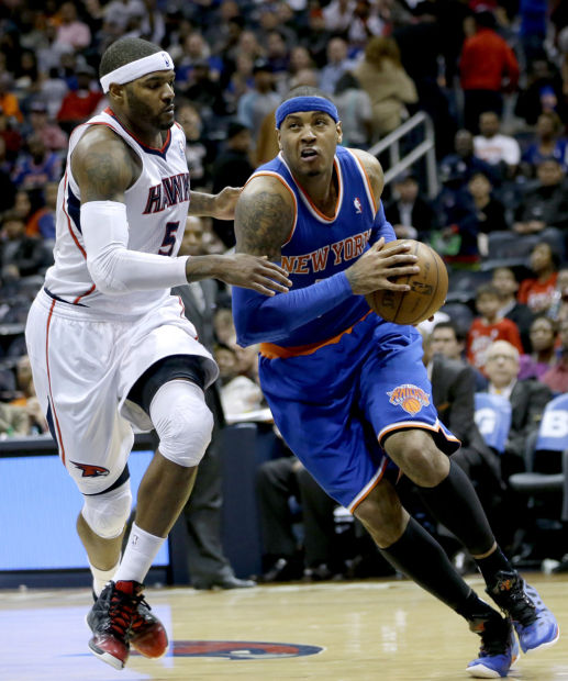 NBA: Anthony's 40 propels Knicks to 10th straight win