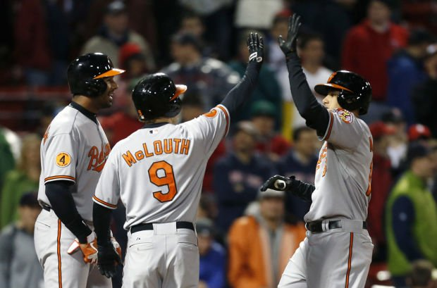 Game of the day: Orioles 8, Red Sox 5: Boston's sellout streak ends; O's score 5 in 9th