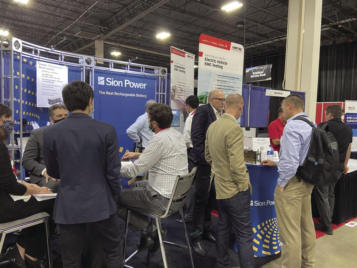 Sion Power at The Battery Show