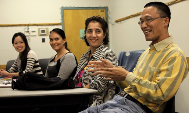 English language classes at Himmel Library