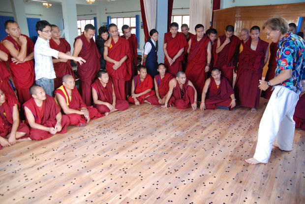 Science for monks program