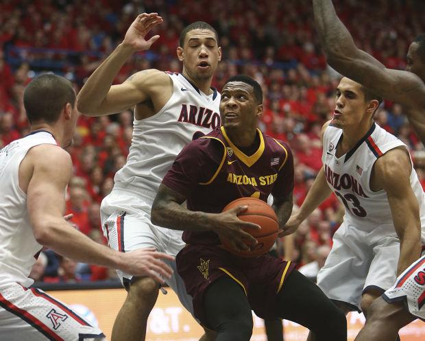 Arizona vs. Arizona State men's college basketball