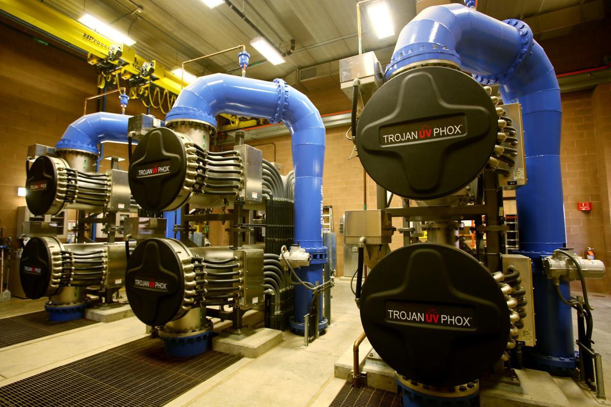 Advanced Oxidation Process Water Treatment facility