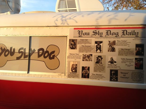 One of the newest food trucks on the Tucson scene