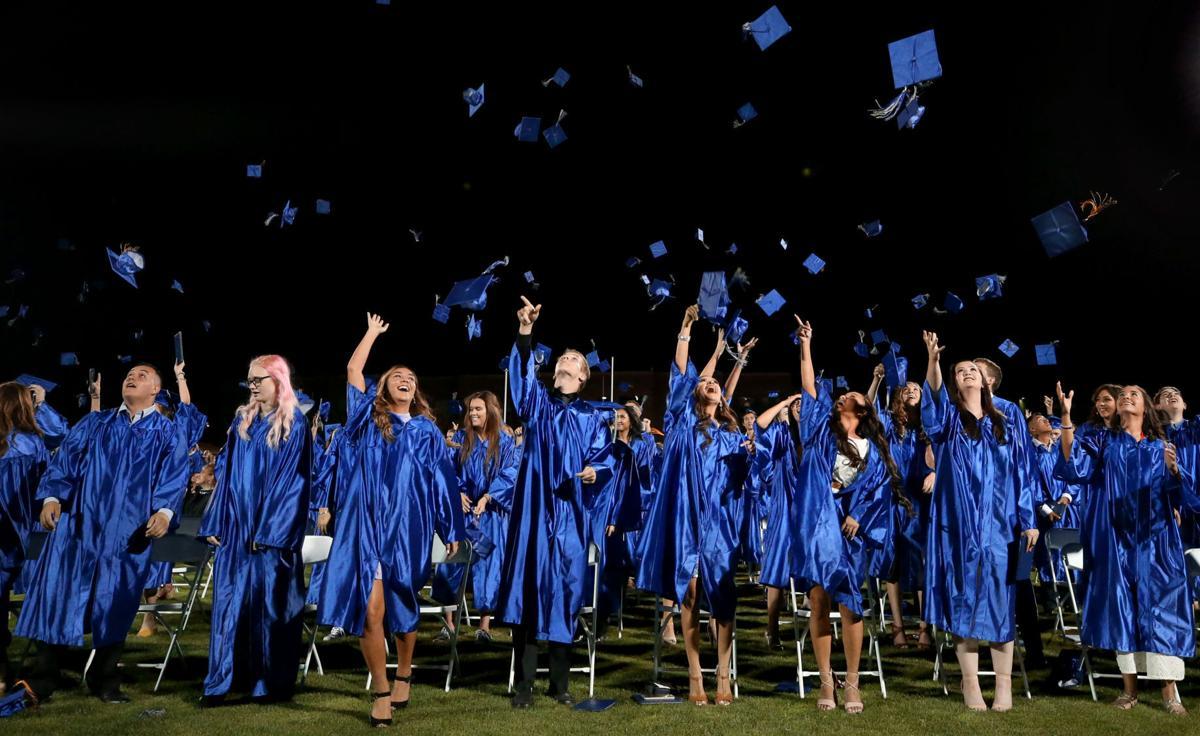 Catalina Foothills HS graduation, 2018