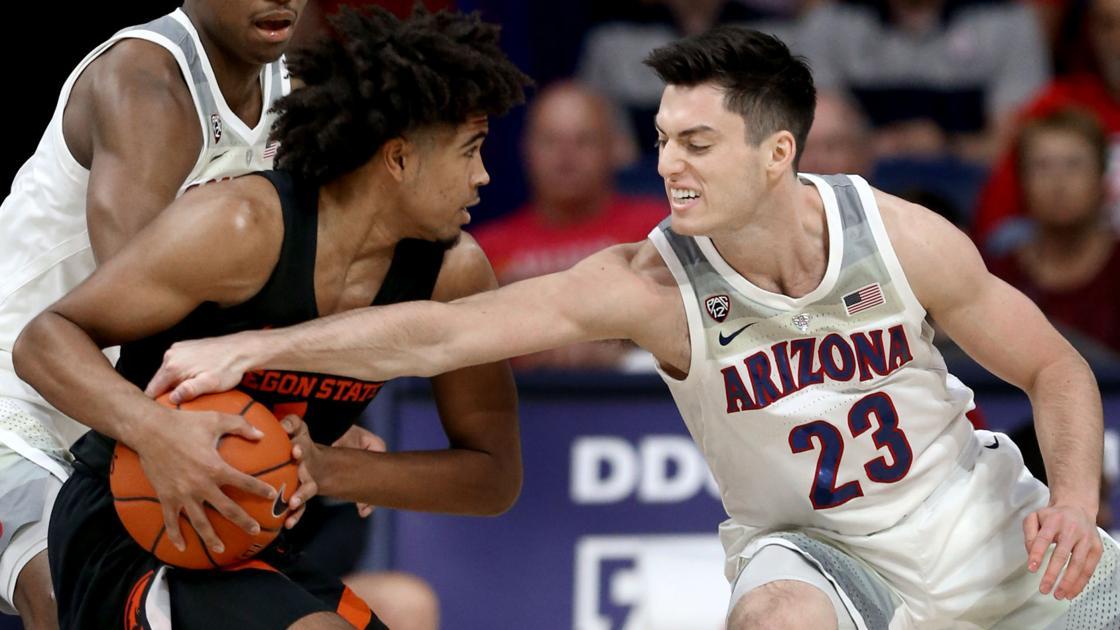 Photos: UA basketball guard Alex Barcello